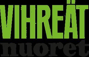 Vihreiden nuorten logo